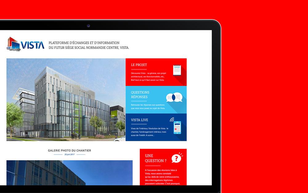 Vinci - Ibidem Agence de communication Rouen