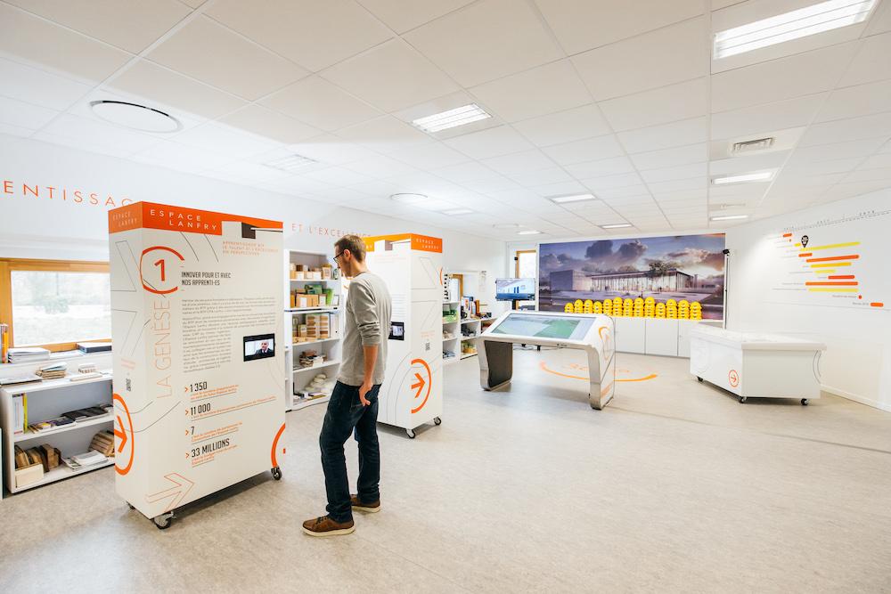 Espace Landry - Ibidem Agence de communication Rouen